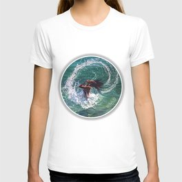 """Hair splash"" circle T-shirt"
