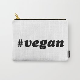 Hashtag VEGAN Carry-All Pouch