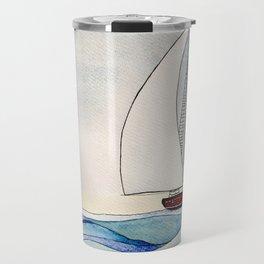 Bateau et océan Travel Mug