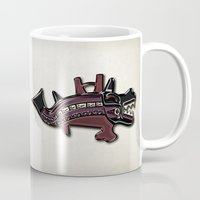 peru Mugs featuring Ancient Peru by Franco Olivera
