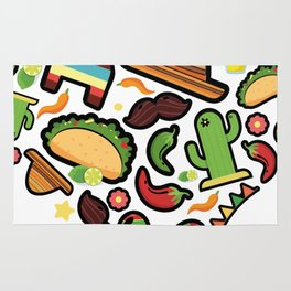 Love Cinco De Mayo Mexican Party Costume Rug