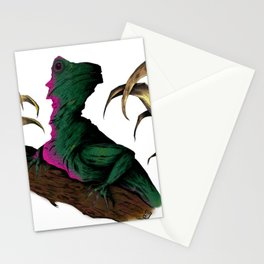 Lizard in repose Stationery Cards