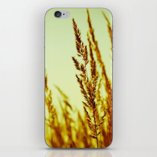 whispering grasses I iPhone & iPod Skin