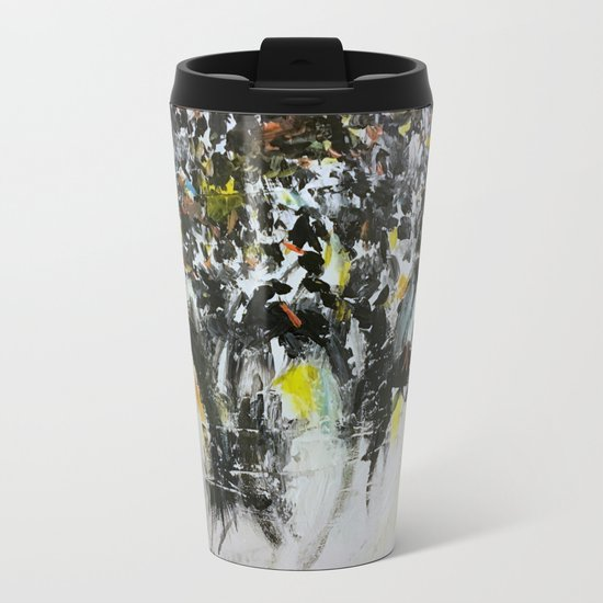 Penguins Metal Travel Mug