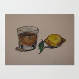 Jack & Lemon Canvas Print