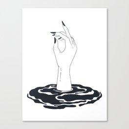 fuck you Canvas Print