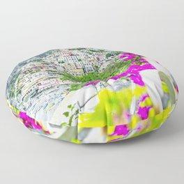 Positano, Amalfi Coast, Italy Floor Pillow