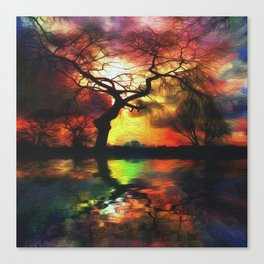 Stillwater Sunrise Canvas Print
