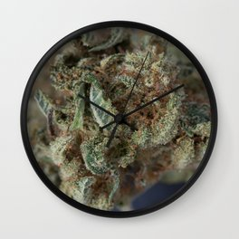 Close up of Deep Sleep Medicinal Medical Marijuana Wall Clock