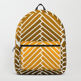 Parquet All Day - Gold Lamé Backpack