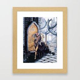 Solas leaves Framed Art Print