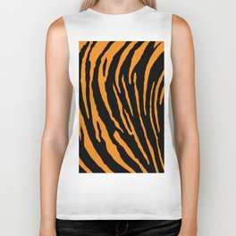 Tiger Stripes Biker Tank