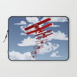 Retro Biplanes Laptop Sleeve