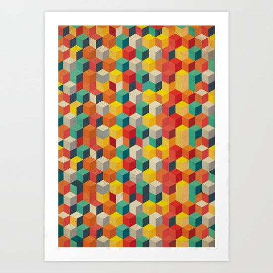 Rubicube Art Print