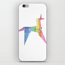 Origami Unicorn - Blade Runner iPhone Skin