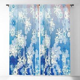 Snowflakes Blackout Curtain