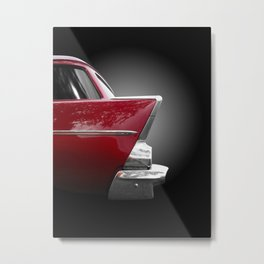 US American classic car 1957 150 handyman wagon Metal Print