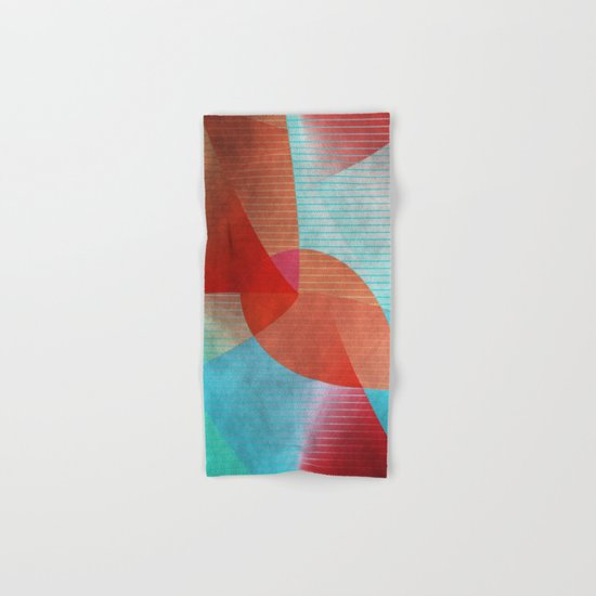 Multicolored abstract 2016 / 015 Hand & Bath Towel