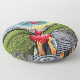 Interspatial Field Floor Pillow