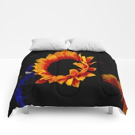 Follow the Sunflower Comforters