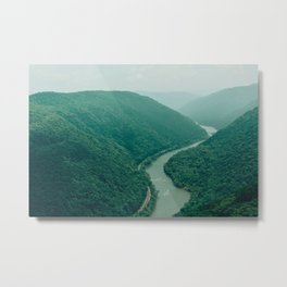 New River Gorge Wilderness Metal Print