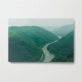 New River Gorge Wilderness Metal Print