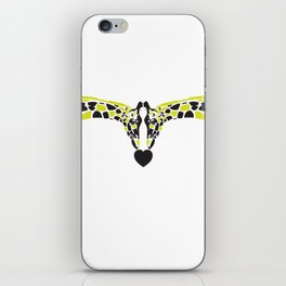 Neck & Neck. iPhone Skin
