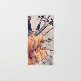 Classic Violins Hand & Bath Towel