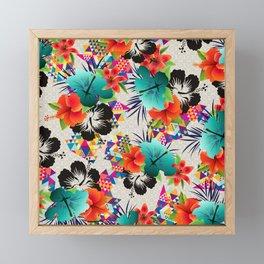 tropical summer Framed Mini Art Print