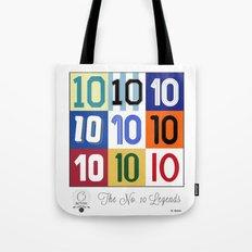 The No. 10 Legends Tote Bag