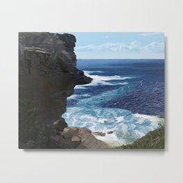 That cliff Metal Print