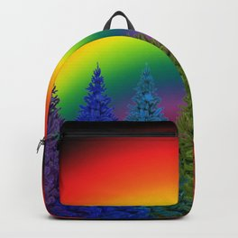 Rainbow Christmas Backpack