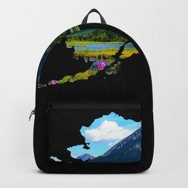 Alaska Outline - God's_Country Backpack