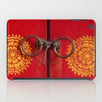 buddhism iPad Cases featuring Temple Door by Maria Heyens