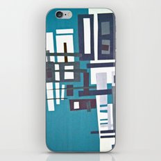 cityblue iPhone & iPod Skin