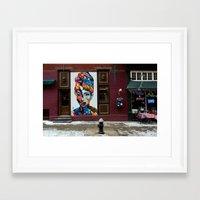 hepburn Framed Art Prints featuring Hepburn by ArpanDholi