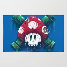 Mushroom Skull Rug