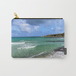 green seascape Carry-All Pouch