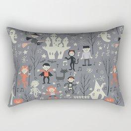 Love shack monsters halloween party Rectangular Pillow