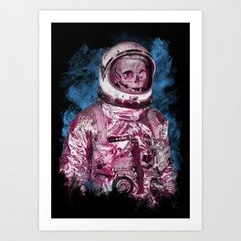 AstroSkull Art Print