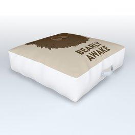 BEARLY AWAKE Outdoor Floor Cushion