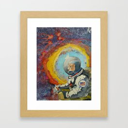 AstroLost Framed Art Print