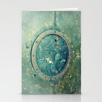 portal Stationery Cards featuring Portal by Labartwurx