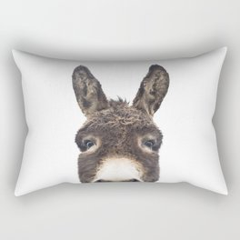 Hey Donkey Rectangular Pillow