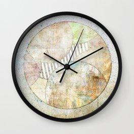 Hidden Planet Wall Clock