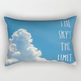 Sky's the limit - cloudscape Rectangular Pillow