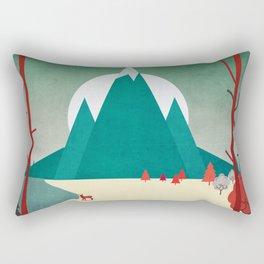 Natural fortress Rectangular Pillow