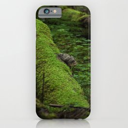 moss and hooves iPhone Case