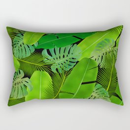 Plants leafs pattern iPhone 4 4s 5 5c 6 7, pillow case, mugs and tshirt Rectangular Pillow