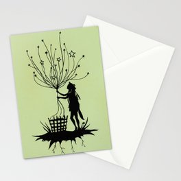She Spins The Stars Stationery Cards